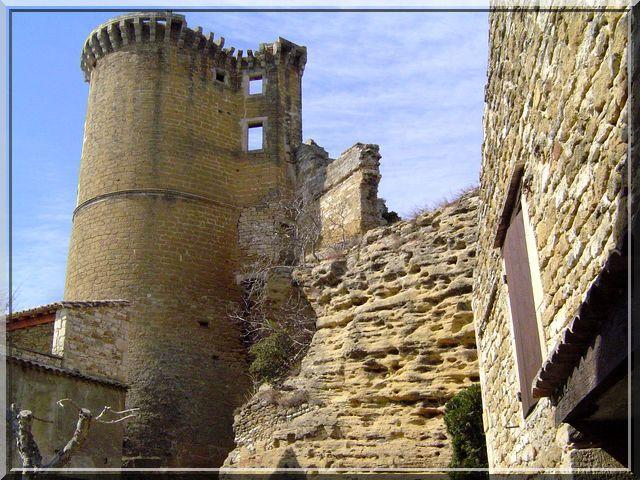 Diaporama château de La Baume de Transit