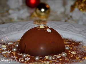 "Tiramisu en Coque de Chocolat ""Dôme Tiramisu"""