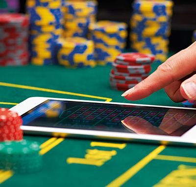 How do you bet on an online casino?