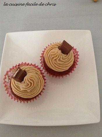 cupcake kinder chocolat