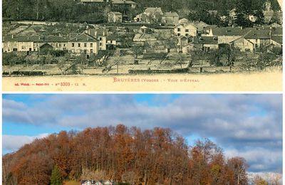 BRUYÈRES-VOSGES : des années 1900 à maintenant du côté du Château