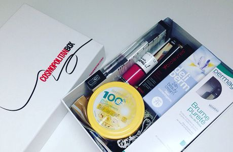 CosmopolitanBox Beauty Experience !