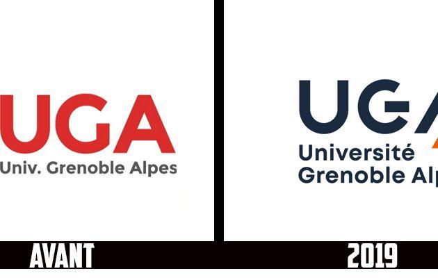 Branding : Un nouveau logo pour l'Université Grenoble Alpes - UGA