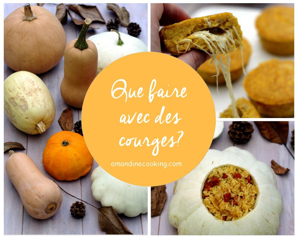 recettes courge