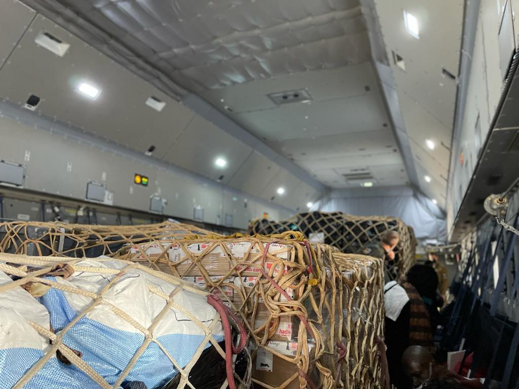 SOS Goma 2021, l'avion militaire belge fait escale à Kin ce soir