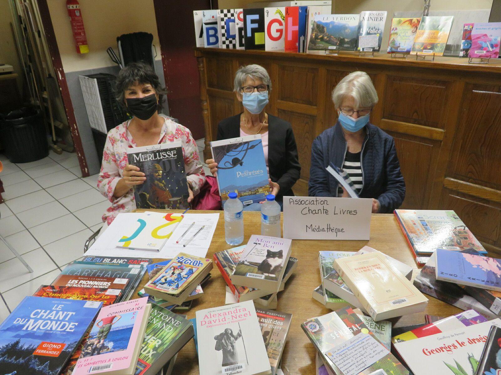 Saint André les Alpes: Des bénévoles à fond les ballons!