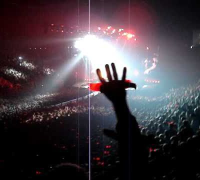 Concert ACDC Bercy le 27/02/09