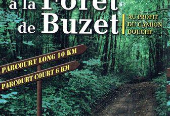 Randonnée à la forêt de Buzet