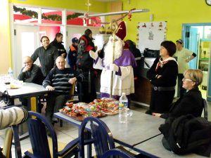 Saint Nicolas au foyer des Anciens à Algrange en 2011