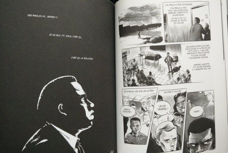 Wake up America - Tome 1 - 1940-1960. John LEWIS, Andrew AYDIN et Nate POWELL - 2014 (BD)