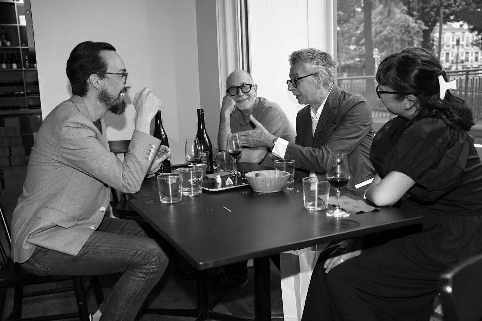 François Ceysson, Philippe Hertanu, Denis Castellas, Yayoï Castellas Gunji