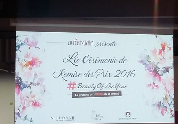 The Beauty of the year 2016 premier prix digital