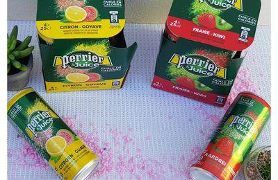 J'ai découvert les boissons PERRIER & Juice
