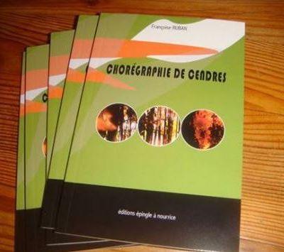 « Chorégraphie de cendres », poèmes de Françoise Ruban, par Cristina Castello