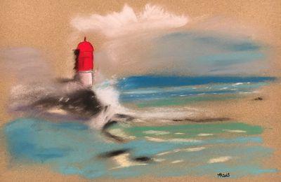 Peintures pastels secs