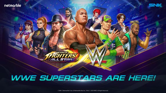 [ACTUALITE] THE KING OF FIGHTERS ALLSTAR - LES SUPERSTARS DE LA WWE SERONT AU RENDEZ-VOUS