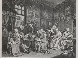 William Hogarth, Le Mariage à la mode, 1745 ( Bnf)