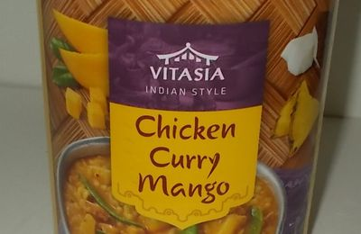 Lidl Vitasia Chicken Curry Mango