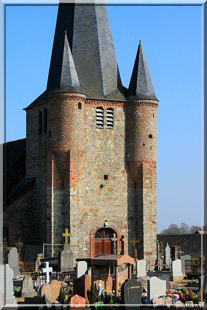 Diaporama église fortifiée de Fontaines-les-Vervins