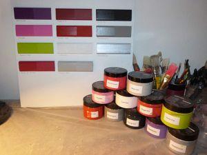 2 nouvelles teintes à ma palette de couleurs...