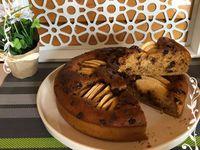Gâteau pomme amandine