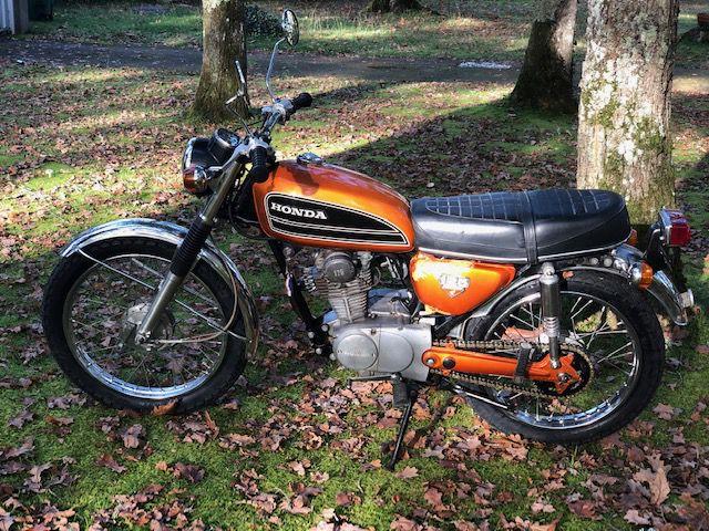 HONDA CB 125 S / 1975