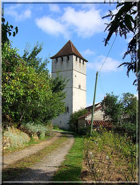 Diaporama tour de Soyris - Labastide-Murat