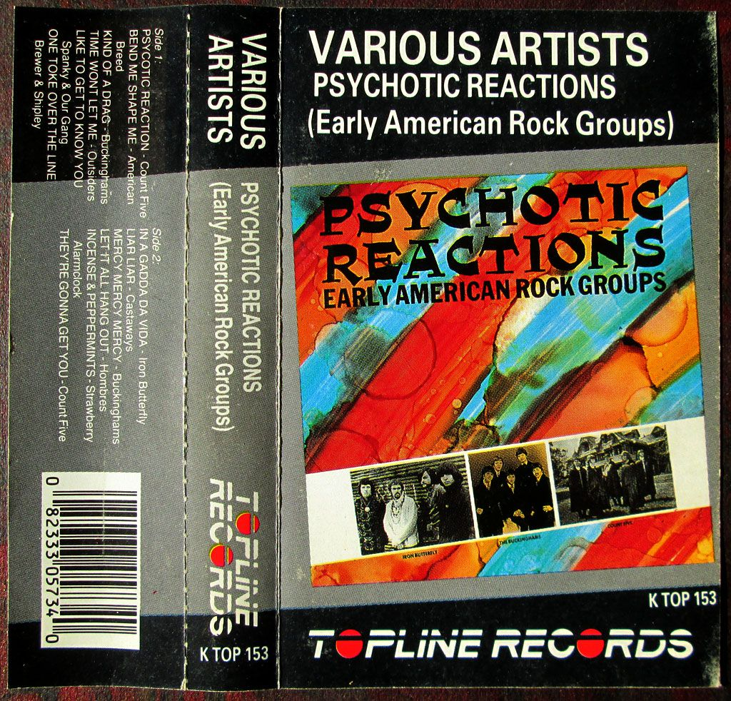 Compilation Psychotic Reactions - 1986