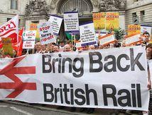 ROYAUME-UNI: deux Britanniques sur trois demandent la RENATIONALISATION des chemins de fer
