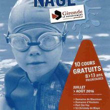 Apprenez à nager aux Bardoulets