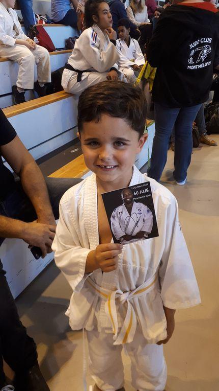 60 ans du judo club de Maurienne...avec TEDDY RINER !!!