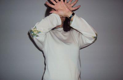 t-shirt coudières étoilées...