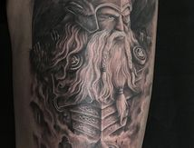 Viking Tattoo Odin
