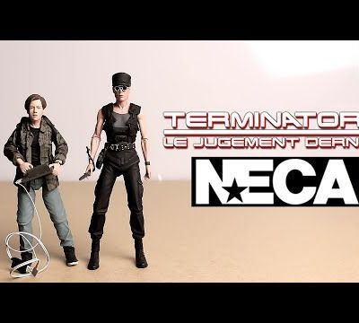 review neca terminator 2 sarah & john connor