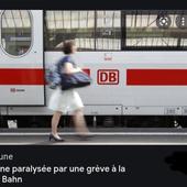 POUR LES SALAIRES : En Allemagne, la grève des cheminots paralyse le trafic ferroviaire