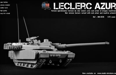 Char Leclerc au 1/72 (Model Miniature)