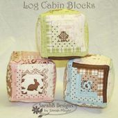 Log Cabin Baby Blocks