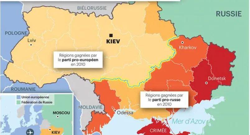 UKRAINE : FAIRE DU TAPAGE A L'OUEST POUR ATTAQUER A L'EST