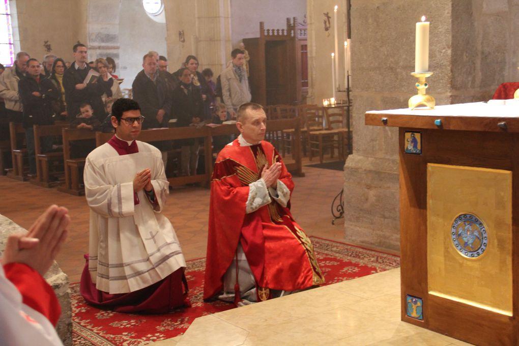 Avec la Schola St Maur