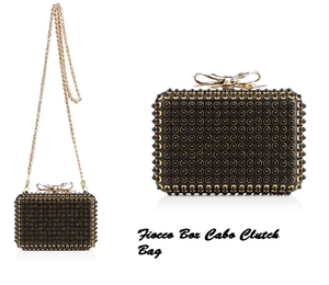 Fiocco Box Cabo Clutch Bag
