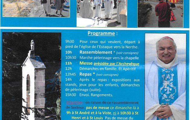 Pèlerinage Notre Dame de la Galline