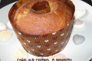 Cake aux Cerises et Amaretto