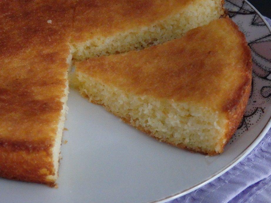 Gâteau au citron de Cyril Lignac