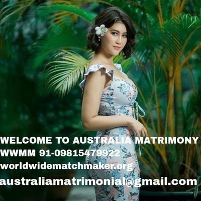 REGISTERED WITH AUSTRALIA MATCHMAKING 91-09815479922 WWMM