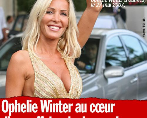 Ophelie Winter au cœur d'une affaire de drogue !