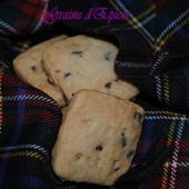 Scottish Shortbreads aux Pépites de Chocolat - Graine d'Epices