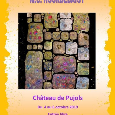 Exposition Marie-Christine Hourdebaigt