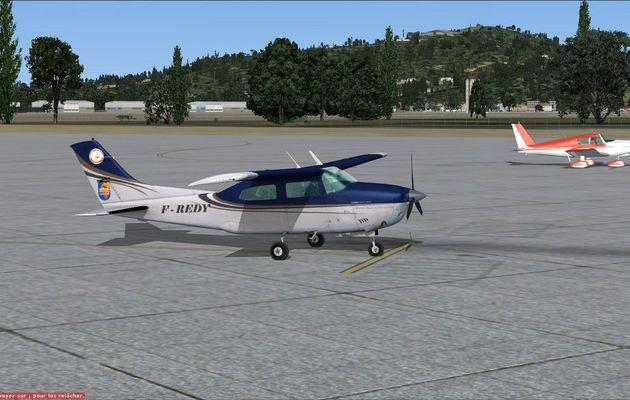 Rapatriement, de Hyeres à Muret, du Cessna 210 F-REDY...
