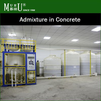 Our Admixtures enhance the durability, workability of a given concrete mixture - MUHU CHINA