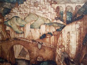 3e: L'Ascension du Christ, 1921, par Valentine Reyre (1889-1943)